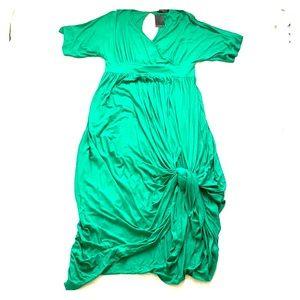 Eloquii Kimono Sleeve Maxi Dress